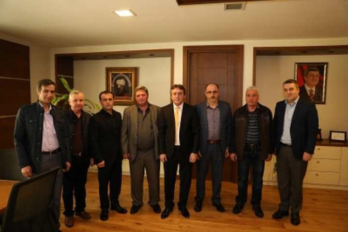 Demirci, Balkan Türkleri Derneğini Konuk Etti