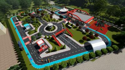Demirci, Trafik Eğitim Parkını İnceledi