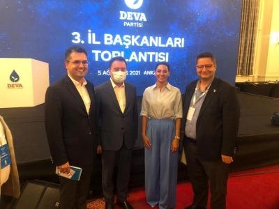 DEVA Partisi'nin başkanları Ankara'da buluştu