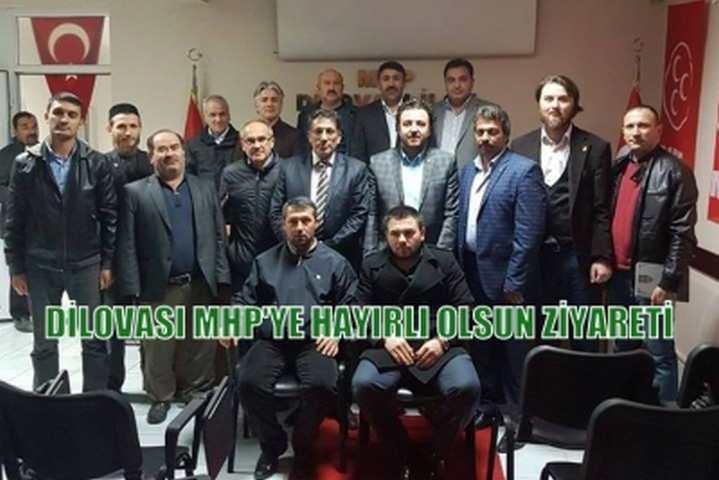 Dilovası MHP'ye Hayırlı Olsun Ziyareti
