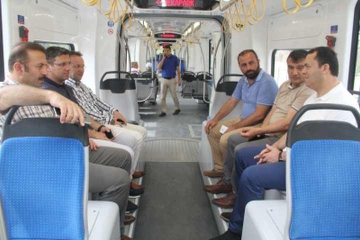 Diyarbakır heyeti Kocaeli'de incelemelerde bulundu