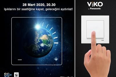 Dünya Saati Etkinliği Panasonic'in Ana Sponsorluğunda Gerçekleşti