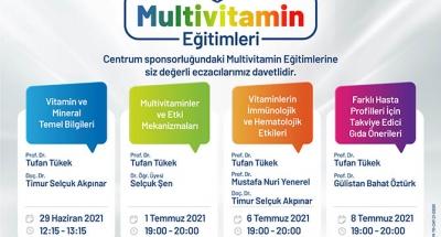 Eczacılara Multivitamin Eğitimleri