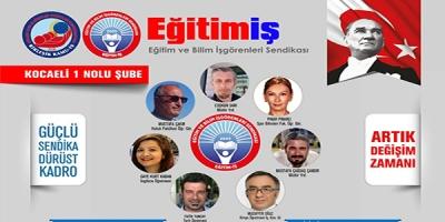 EĞİTİM-İŞ'TE ADAYLAR NETLEŞİYOR