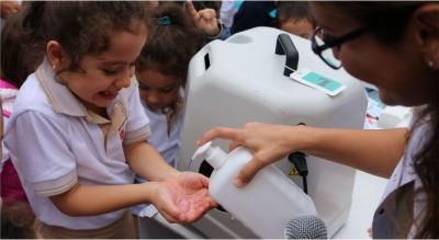 Ellerimizi Yıkayalım;Mikroplardan Kurtulalım