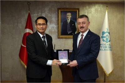 Endonezya Başkonlosu'nu ağırladı