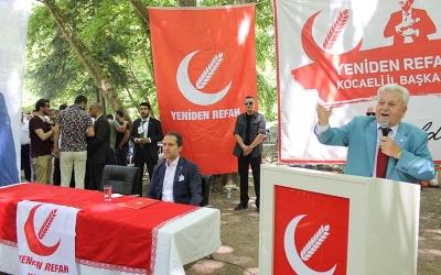 Erbakan Kocaeli teşkilatının misafiri oldu