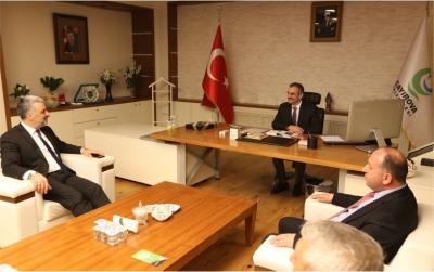 Eryarsoy ve Çakır, Başkan Çiftçi'yi Ziyaret Etti
