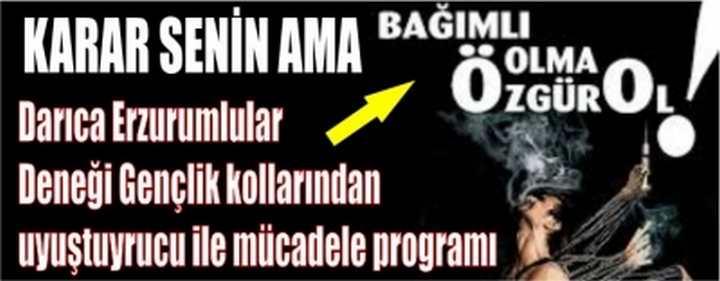 Erzurumlu Gençlerden Önemli Program