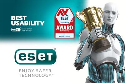 ESET'e En İyi Kullanılabilirlik Ödülü