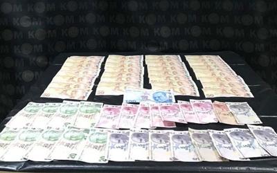 Esnafa sahte para veren şüpheli yakalandı