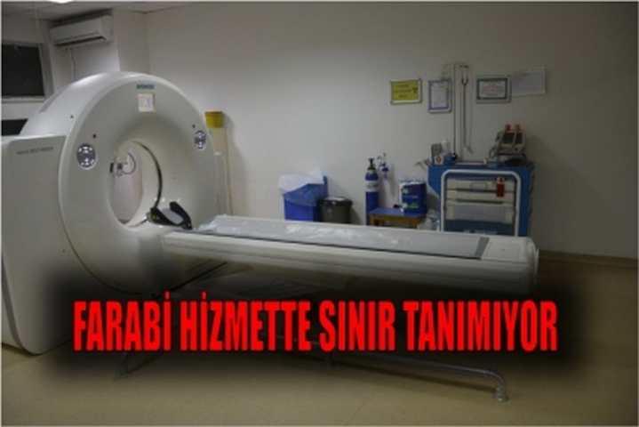 FARABİ HİZMETTE SINIR TANIMIYOR