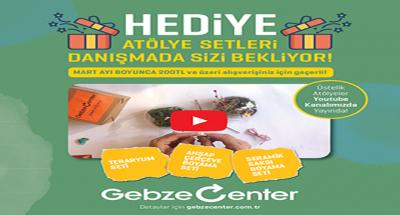 GEBZE CENTER, ŞENLENDİRİYOR