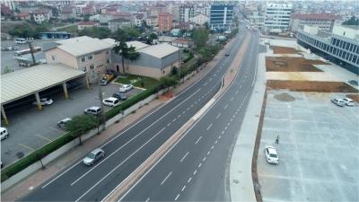 Gebze Isıkgöl Caddesi yenilendi