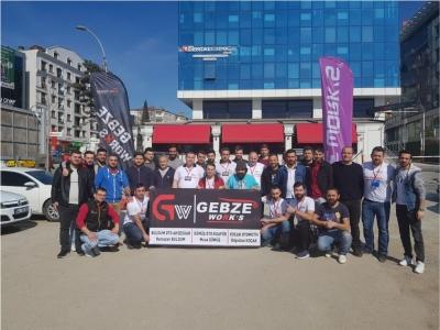 Gebze Works Otomobil Kulübü   Kahvaltıda bir araya geldiler