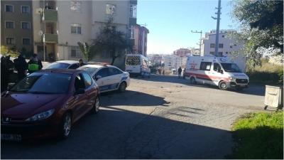 Gebze'de iki araç çarpıştı!