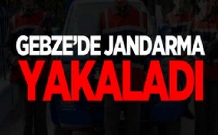 Gebze'de Jandarma Yakaladı