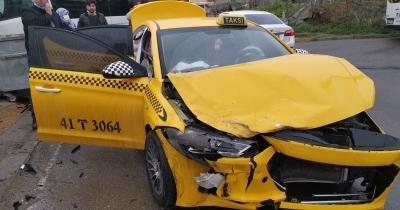 Gebze'de kaza: 1 yaralı
