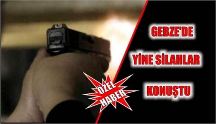 Gebze'de yol verme meselesinde silahlar konuştu!