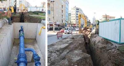 Gebze'deki altyapı projesinde tüm imalatlar tamamlandı