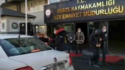 Gebze'deki azılı hırsızlar yakalandı