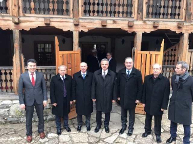 Gebze'den Bosna'ya Türkçe derslik