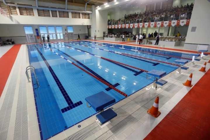 Geleceğin şampiyonları bu havuzlarda yetişecek