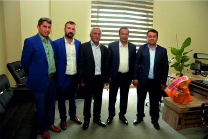 Giresunluların Yeni Yönetiminden Başkan Toltar'a ziyaret