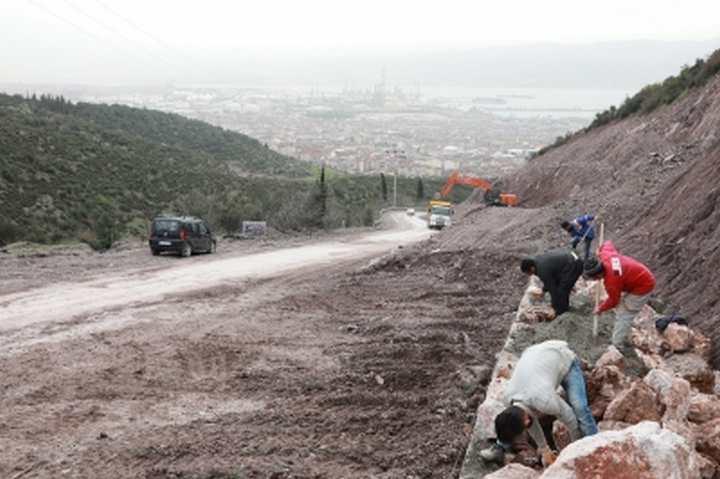Hacı Osman-İlimtepe arasında sona doğru