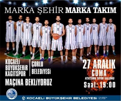 Haydi Kocaeli Basketbol maçına
