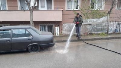 Her Mahalleyi Dezenfekte Ediliyor