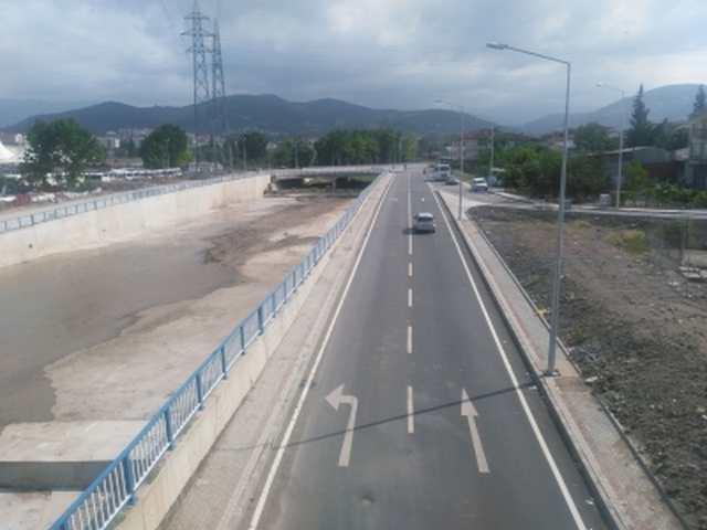 Hisar Deresi Çevresi Kavşağı trafiği rahatlatacak
