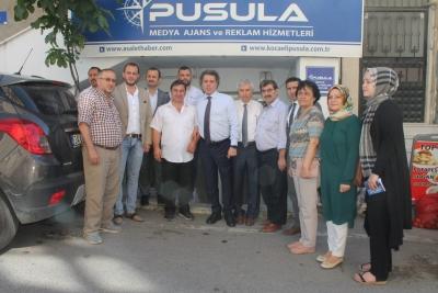 HÖBEK PUSULA'YI ZİYARET ETTİ.