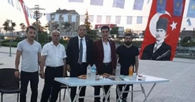 İ PARTİ STANDINA SALDIRI