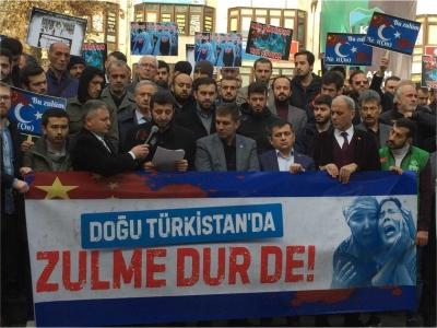 İHH Kocaeli'den Doğu Türkistan için Sessiz Çığlık