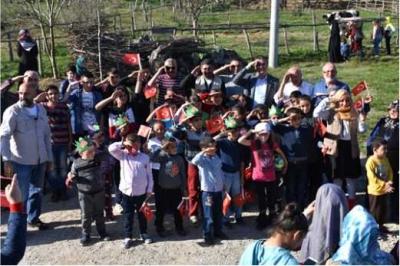İHH Kocaeli'den ''Köyün Neşesi Çocuklar'' etkinliği