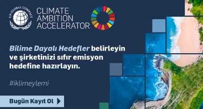 İklim Hedefi Hızlandırma Programı başladı