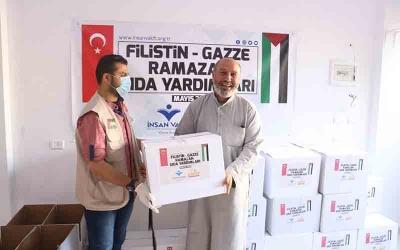 İnsan Vakfı'ndan Gazze'ye ramazan yardımı