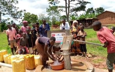 İnsan Vakfı'ndan Uganda'ya Yardım Eli