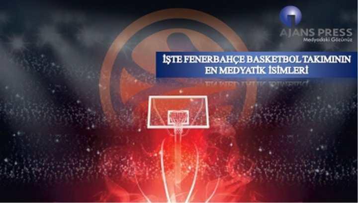 İşte Fenerbahçe Basketbol Takımının En Medyatik İsimleri