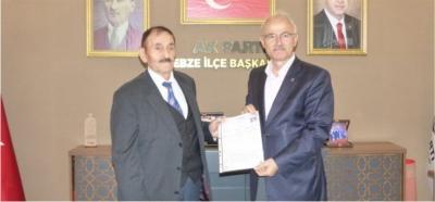 Kadıoğlu'ndan belediye başkanlığına  aday adaylığı