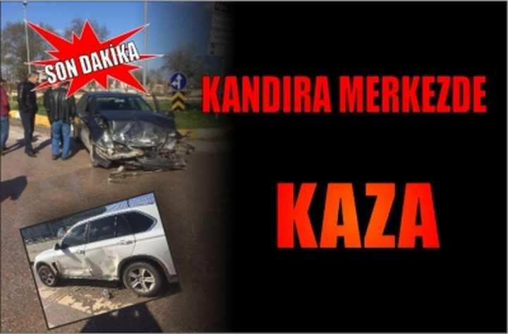Kandıra'da Kaza