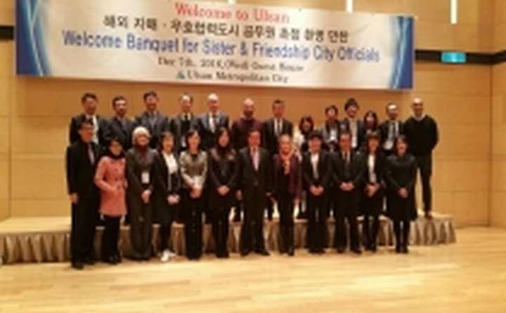 Kardeş şehir Ulsan'da yapılan çalıştayda Kocaeli tanıtıldı
