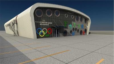 Kartepe Anadolu İHL'ye modern spor salonu