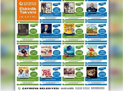 Kasım ayı kültür sanat takvimi