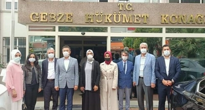Katırcıoğlu ve Kaya Tokmak'ı ziyaret etti
