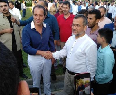 Kılıç ve ekibi Erbakan'ı ziyaret etti