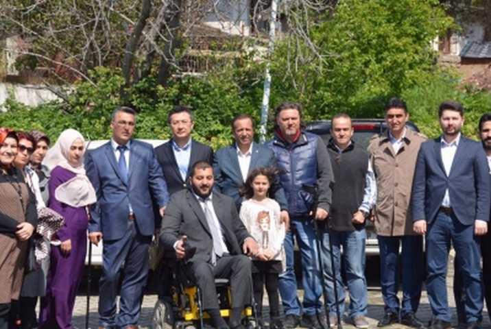 Kocaeli Engelliler Dernek Başkanları Dilovası'nda toplandı