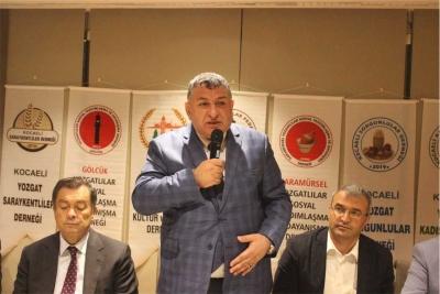 Kocaeli Yozgatlılar Federasyonu resmen kuruldu