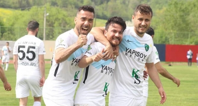Kocaelispor 3 puanı 90+5'te kurtardı!